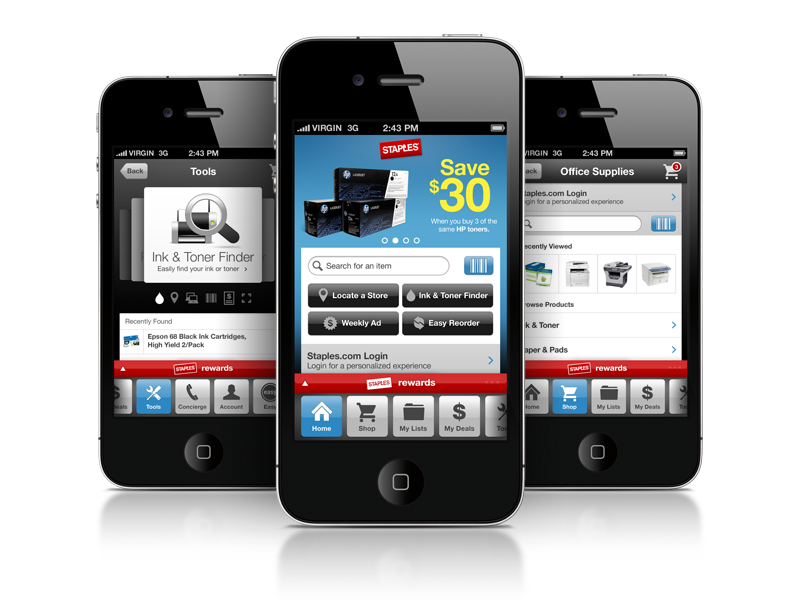 Staples iPhone App - Philip Spradley