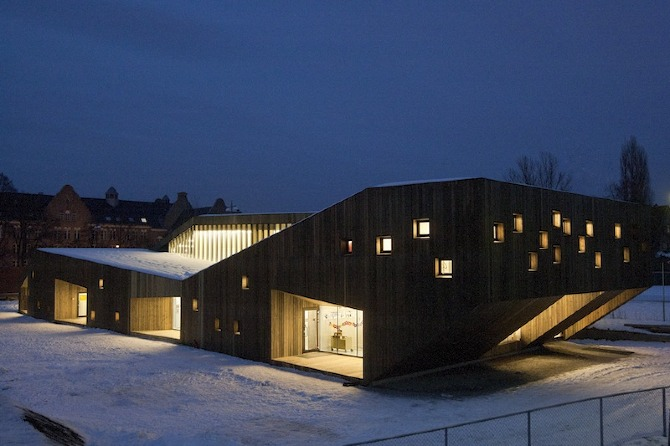 Reiulf Ramstad Architects: Fagerborg Kindergarden - Thisispaper ...