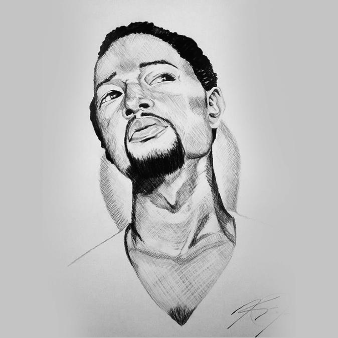 John James Drawings Drawings Kanacia James'